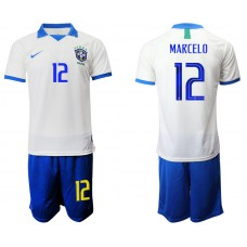2019-20 Brazil 12 MARCELO White Special Edition Soccer Jersey