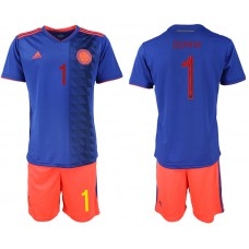 2019-20 Colombia 1 OSPINA Away Soccer Jersey