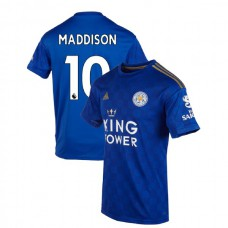 2019-20 Leicester City #10 James Maddison Blue Home Authentic Jersey