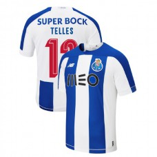 2019-20 Porto #13 Alex Telles Blue White Home Authentic Jersey