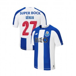 Youth Porto 2019-20 Home #27 Sergio Oliveira Blue White Replica Jersey