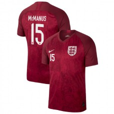 England FIFA 2019 World Cup Red #15 Abbie McManus Authentic Jersey