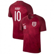 England FIFA 2019 World Cup Red #10 Fran Kirby Authentic Jersey