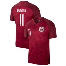 England FIFA 2019 World Cup Red #11 Toni Duggan Authentic Jersey