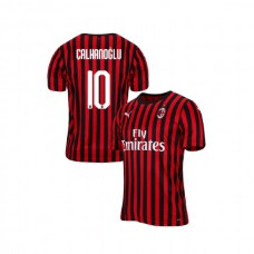 2019/20 AC Milan #10 Hakan Calhanoglu Red Black Home Authentic Jersey