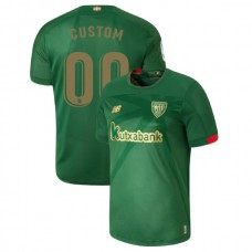 2019/20 Athletic Bilbao #00 Custom Green Away Authentic Jersey