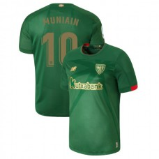 2019/20 Athletic Bilbao #10 Iker Muniain Green Away Authentic Jersey