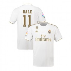 2019/20 Real Madrid #11 Gareth Bale White Home Authentic Jersey