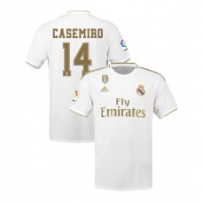 2019/20 Real Madrid #14 Casemiro White Home Authentic Jersey
