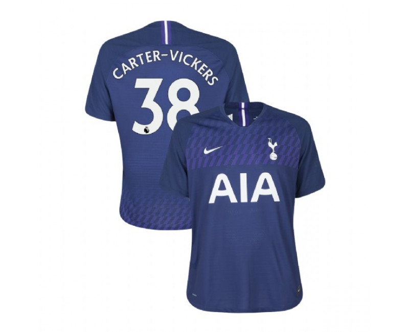 2019/20 Tottenham Hotspur #38 Cameron Carter-Vickers Navy Away Replica Jersey