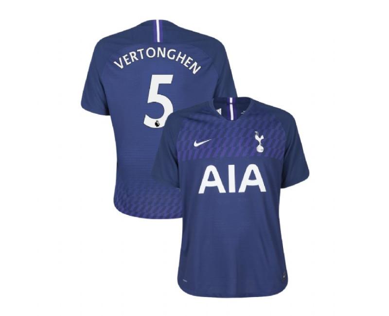 2019/20 Tottenham Hotspur #5 Jan Vertonghen Navy Away Authentic Jersey