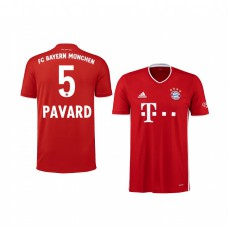 Youth Bayern Munich Benjamin Pavard Authentic Jersey 2020/21 Home Edition