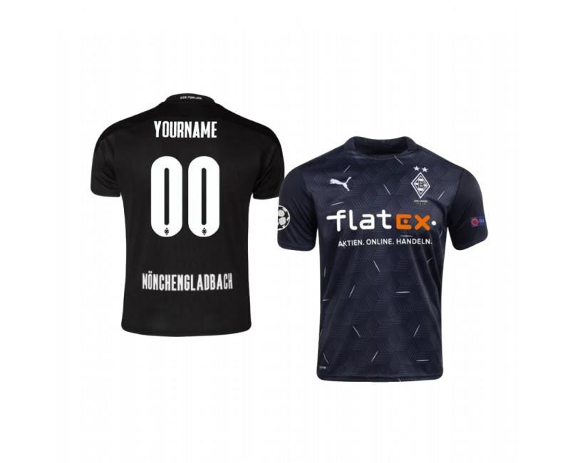 Borussia Monchengladbach Custom Authentic Jersey 2020/21 Away Edition