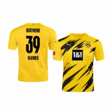Youth Borussia Dortmund Dominik Wanner Authentic Jersey 2020/21 Home Edition