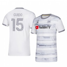 Youth Alejandro Guido Los Angeles FC Authentic Jersey 2020/21 Away Short Sleeve