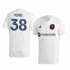 Youth Alex Monis Chicago Fire Authentic Jersey 2020/21 Away Short Sleeve