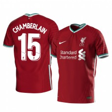 Youth Alex Oxlade-Chamberlain Liverpool Home Authentic Jersey 2020/21 Short Sleeve
