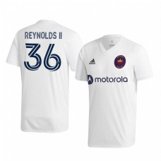 Youth Andre Reynolds II Chicago Fire Authentic Jersey 2020/21 Away Short Sleeve