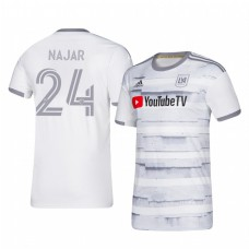 Youth Andy Najar Los Angeles FC Authentic Jersey 2020/21 Away Short Sleeve