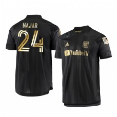 Andy Najar Los Angeles FC Authentic Jersey 2020/21 Primary Authentic