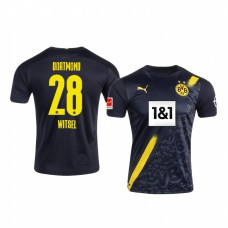Youth Borussia Dortmund Axel Witsel Authentic Jersey Away 2020/21
