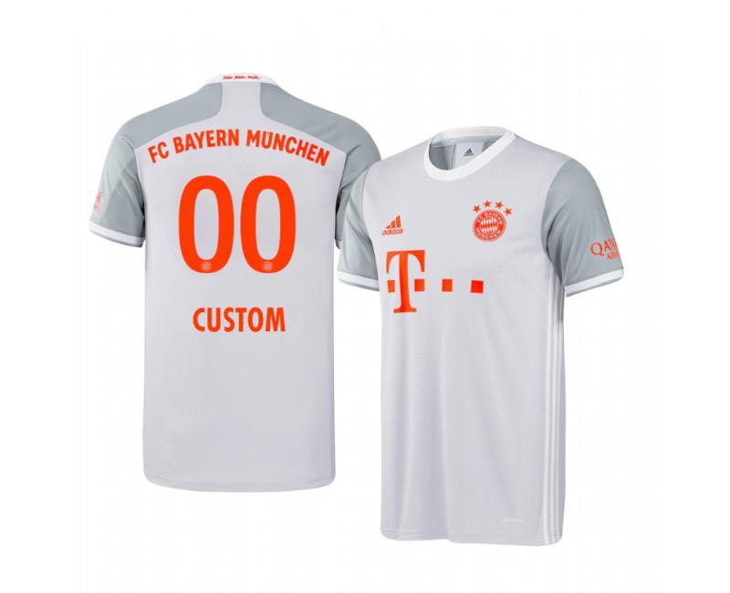 Youth Custom Bayern Munich Replica Jersey Away 2020/21 Replica