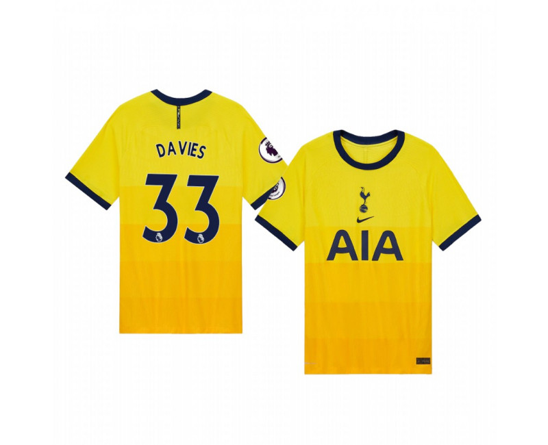 Ben Davies Tottenham Hotspur Authentic Jersey 2020/21 Third Vapor Match