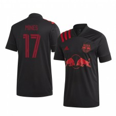 Youth Ben Mines Short Sleeve Authentic Jersey New York Red Bulls Away 2020/21