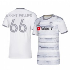 Youth Bradley Wright-Phillips Los Angeles FC Authentic Jersey 2020/21 Away Short Sleeve