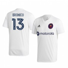 Youth Brandt Bronico Chicago Fire Authentic Jersey 2020/21 Away Short Sleeve