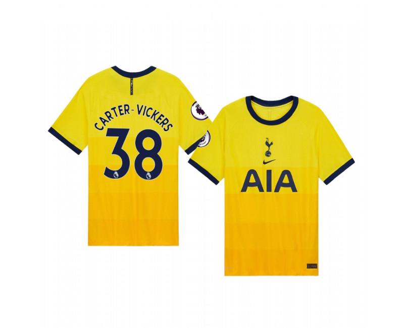 Cameron Carter-Vickers Tottenham Hotspur Replica Jersey 2020/21 Third Vapor Match