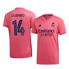Youth Casemiro Real Madrid Authentic Jersey 2020/21 Away Short Sleeve