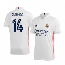 Youth Casemiro Authentic Jersey Real Madrid 2020/21 Home