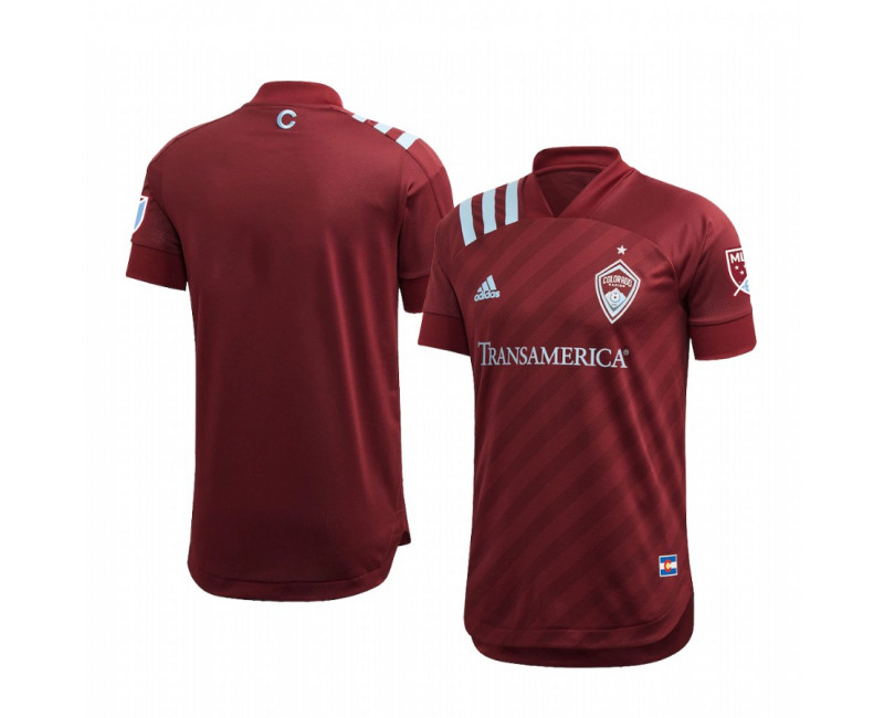 Youth Colorado Rapids Authentic Jersey Home 2020/21 Short Sleeve