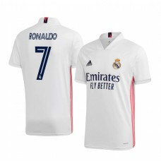 Youth Cristiano Ronaldo Authentic Jersey Real Madrid 2020/21 Home