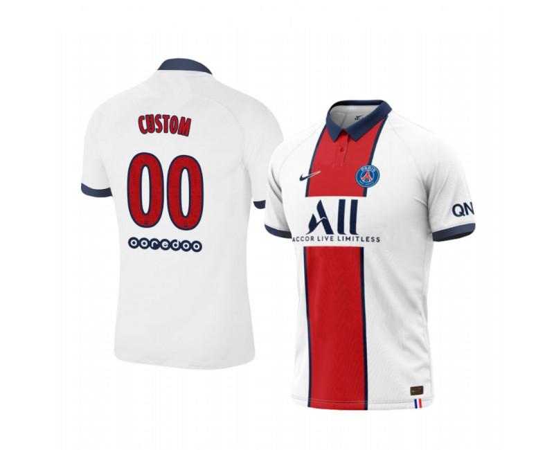 Youth Custom Authentic Jersey Paris Saint-Germain Away 2020/21