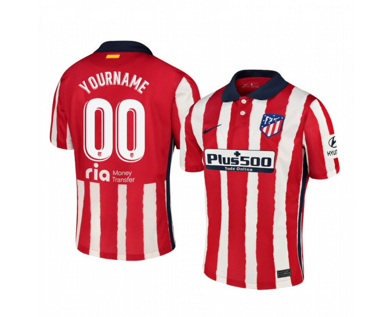 Youth Atletico de Madrid Custom Authentic Jersey Home 2020/21