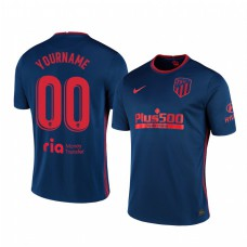 Youth Custom Authentic Jersey Atletico de Madrid 2020/21 Away