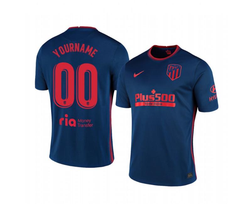 Custom Replica Jersey Atletico de Madrid 2020/21 Away