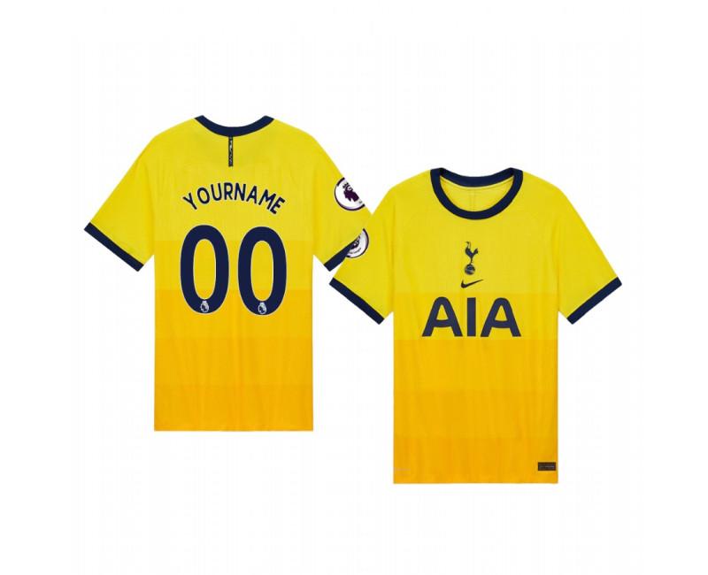 Custom Tottenham Hotspur Replica Jersey 2020/21 Third Vapor Match