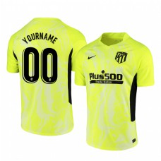 Youth Custom Authentic Jersey Atletico de Madrid 2020/21 Third