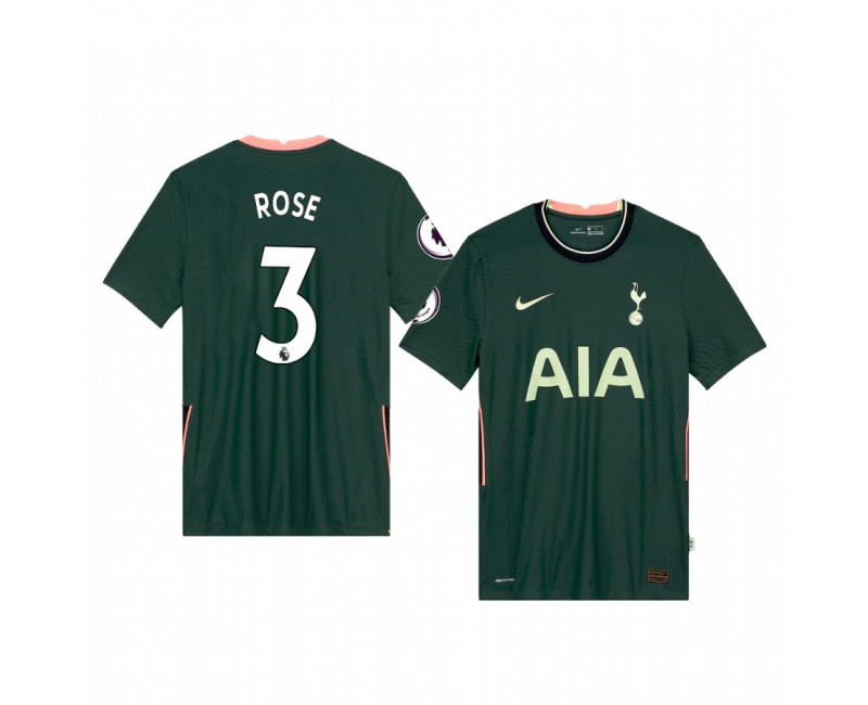 Danny Rose Hotspur Football Club Replica Jersey 2020/21 Away Short Sleeve