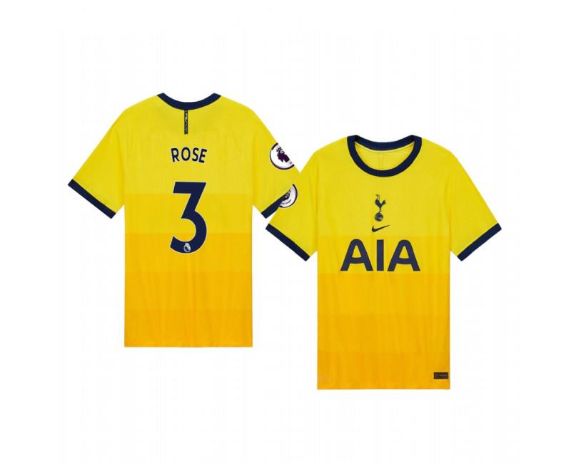 Danny Rose Tottenham Hotspur Replica Jersey 2020/21 Third Vapor Match