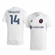 Youth Djordje Mihailovic Chicago Fire Authentic Jersey 2020/21 Away Short Sleeve