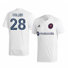 Youth Elliot Collier Chicago Fire Authentic Jersey 2020/21 Away Short Sleeve