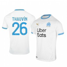 Youth Olympique de Marseille Florian Thauvin Authentic Jersey 2020/21 Home