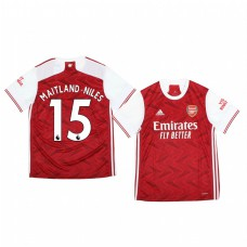 Youth 2020/21 Arsenal Ainsley Maitland-Niles Authentic Jersey 2020/21 Home Official