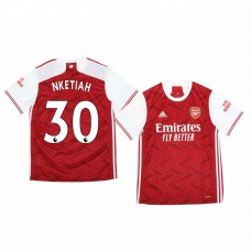 Youth 2020/21 Arsenal Eddie Nketiah Authentic Jersey 2020/21 Home Official