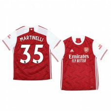 Youth 2020/21 Arsenal Gabriel Martinelli Authentic Jersey 2020/21 Home Official