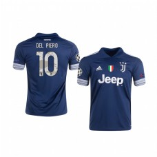Youth Alessandro Del Piero Authentic Jersey Juventus Away 2020/21